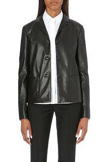 JIL SANDER Blaze leather jacket