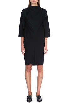 JIL SANDER High-neck wool dress