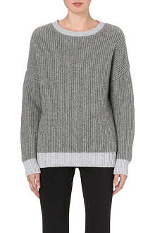 JIL SANDER Chunky ribbed-knit jumper