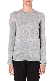 JIL SANDER Cashmere-blend jumper