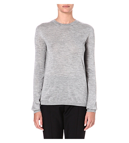 JIL SANDER Cashmere-blend jumper (Light