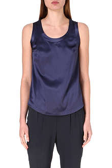 BRUNELLO CUCINELLI Stretch-silk top