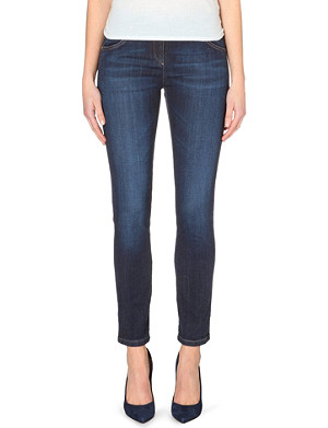 BRUNELLO CUCINELLI Skinny mid-rise stretch-denim jeans