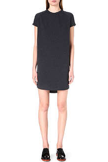 BRUNELLO CUCINELLI Chain-detail jersey dress