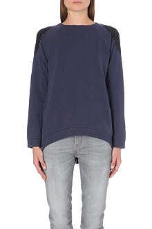 BRUNELLO CUCINELLI Swarovski-embellished cashmere jumper