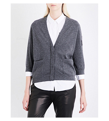 BRUNELLO CUCINELLI Monilla cashmere cardigan (Medium grey