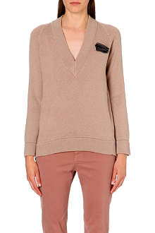BRUNELLO CUCINELLI Pocket-square cashmere jumper