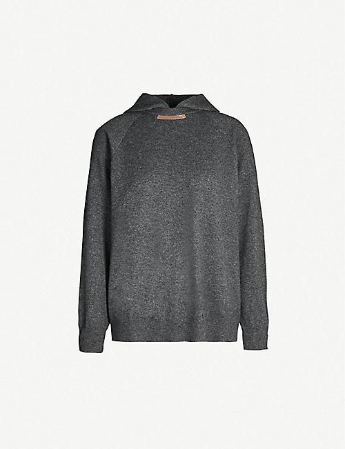 06440ec205 BRUNELLO CUCINELLI Wool-blend hoody
