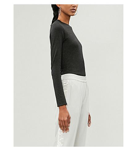BRUNELLO CUCINELLI Metallic-knit cashmere-blend jumper (Black+stone