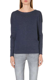 BRUNELLO CUCINELLI Metallic cashmere-blend jumper