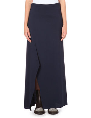 BRUNELLO CUCINELLI Stretch-wool maxi skirt