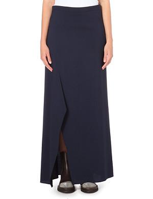 BRUNELLO CUCINELLI Stretch-wool maxi skirt