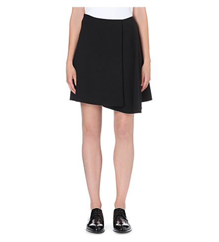 BRUNELLO CUCINELLI Asymmetric flared skirt (Black