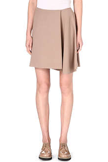 BRUNELLO CUCINELLI Asymmetric wool-blend skirt