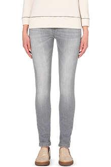 BRUNELLO CUCINELLI Slim-fit boyfriend cropped mid-rise jeans