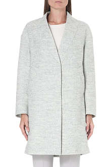 BRUNELLO CUCINELLI Melange v-neck coat