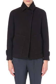 BRUNELLO CUCINELLI Short funnel neck coat