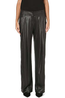 BRUNELLO CUCINELLI Metallic silk trousers