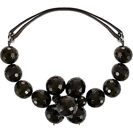 BRUNELLO CUCINELLI Cluster bead necklace (Black