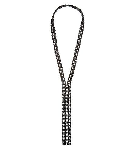 BRUNELLO CUCINELLI Beaded necklace (Black