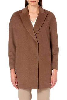 BRUNELLO CUCINELLI Wool-cashmere double breasted coat