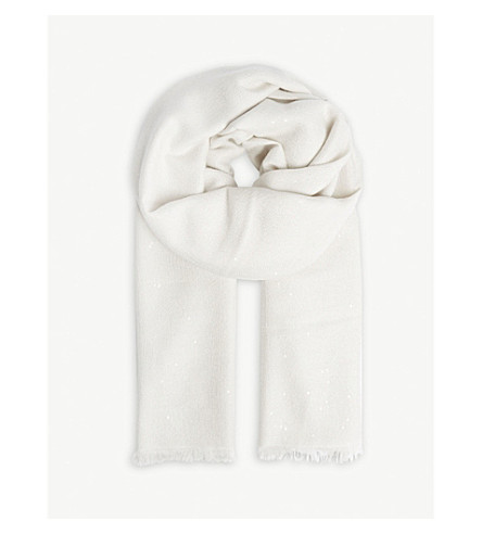 BRUNELLO CUCINELLI Brunello Cucinelli scarf (Vanilla