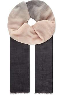 BRUNELLO CUCINELLI Gradient cashmere scarf