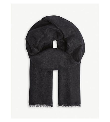 BRUNELLO CUCINELLI Brunello Cucinelli scarf (Black