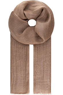 BRUNELLO CUCINELLI Metallic scarf