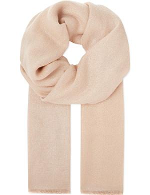 BRUNELLO CUCINELLI Metallic blend scarf