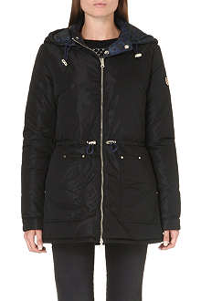 ARMANI JEANS Reversible quilted coat