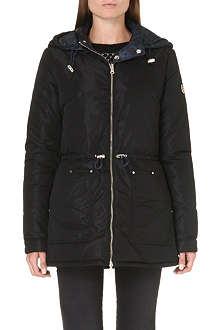 ARMANI JEANS Reversible puffa coat
