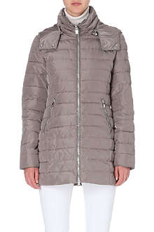 ARMANI JEANS Light puffer jacket with hood