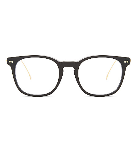 ILLESTEVA Rashida square-frame optical glasses (Matte+black