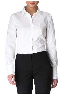 HUGO BOSS Stretch-cotton shirt