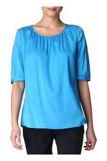 HUGO BOSS Clissa silk blouse