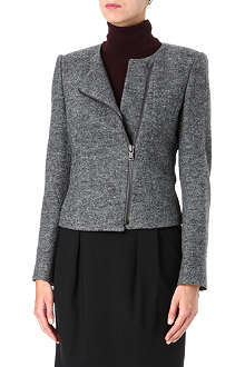 HUGO Wool biker jacket