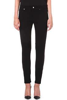 HUGO BOSS Alyna slim straight-leg mid-rise jeans