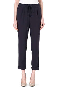 HUGO BOSS Ariyana crepe trousers