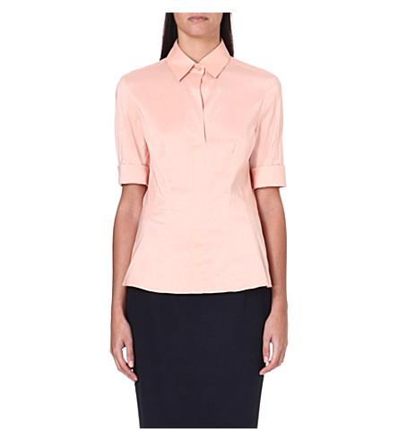 HUGO BOSS Bashini short-sleeved shirt (Blush