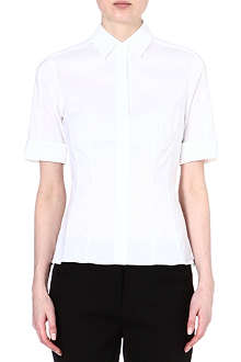 HUGO BOSS Bashini folded-sleeve shirt