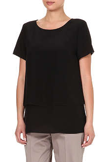 HUGO BOSS Carica silk top