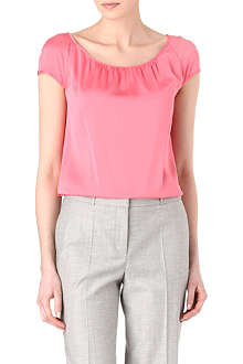 HUGO BOSS Catoni silk-blend top