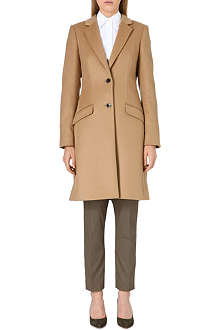 HUGO BOSS Cavira wool-blend coat
