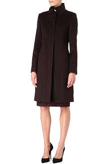 HUGO BOSS Celidena cashmere-blend coat