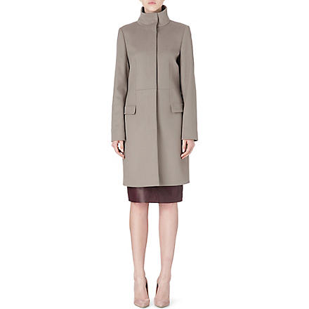 HUGO BOSS Celira wool and cashmere coat (Grey