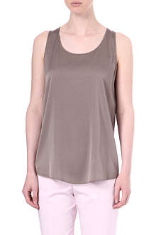 HUGO Cendis silk top