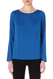 HUGO Silk-blend top