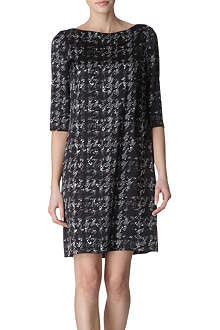 HUGO BOSS Snowbird-print dress