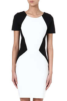 HUGO Two-tone jersey dress